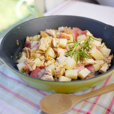 Gourmet Turkey Hash