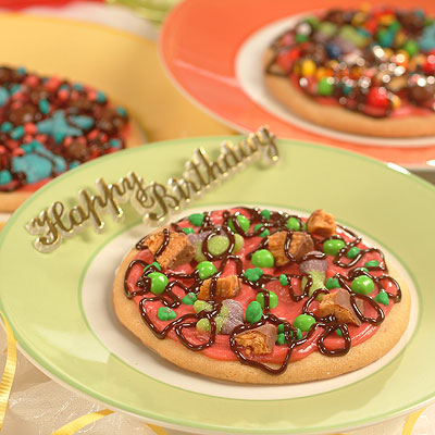 Individual Cookie Pizzas