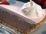 Layered Mock-Neapolitan Pie