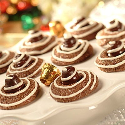 Festive Chocolate Drops
