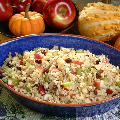 Apple Brown Rice Stuffing