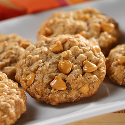 Sensibly Delicious Oatmeal-Butterscotch Cookies