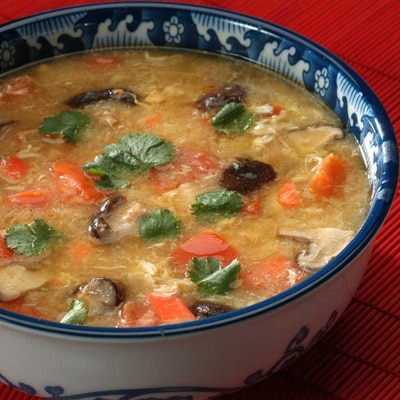 Invigorating Spicy Crab Soup