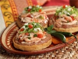 Chicken Sopes