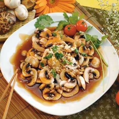 Sauté of Mushroom with Maggi Sauce