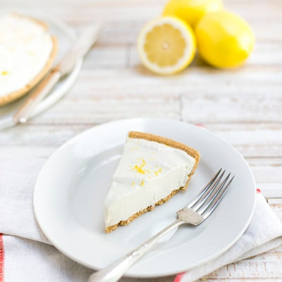 No-Bake Lemon Cloud Pie