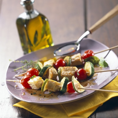 Citrus Tuna Brochettes