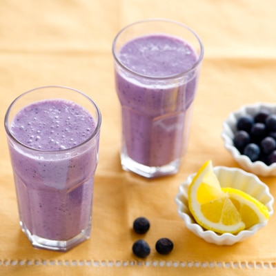 Blue-Lemon Smoothie
