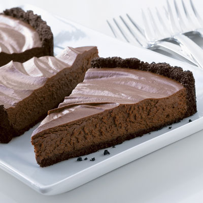 Simply Elegant Chocolate Mousse Tart
