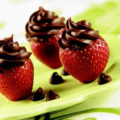Inside Out Chocolate Covered Strawberries by Meals.com