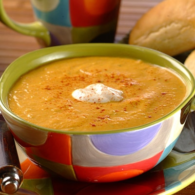 Chilled Pumpkin Soup