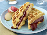 Weeknight Waffle-wiches