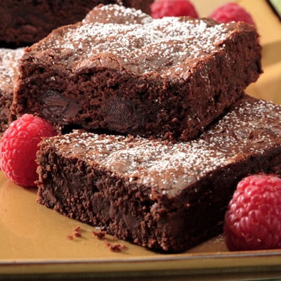 Moca Brownies al Doble Chocolate