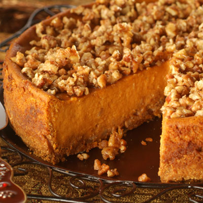 Pumpkin Praline Cheesecake Recipe | Meals.com