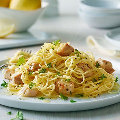 BUITONI® Angel Hair Pasta with Lemon and Chicken (Lighter)