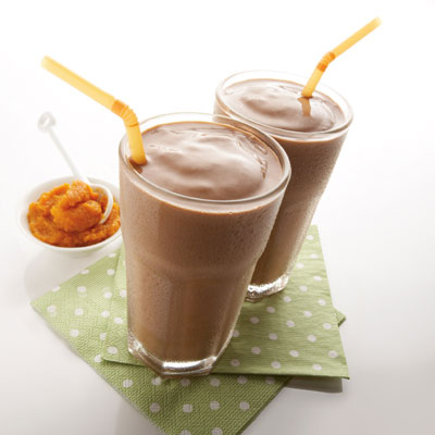 """Pumped Up"" Chocolate Milkshake"