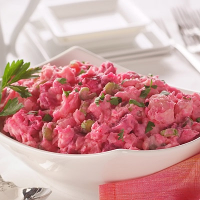 Creamy Beet & Potato Salad
