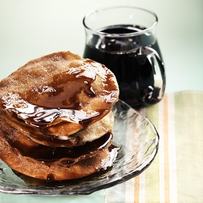 Fritters with Coffee Syrup