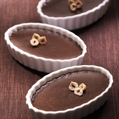 Hazelnut Chocolate Custards