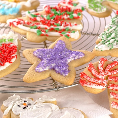 Easy Sugar Cutout Cookies