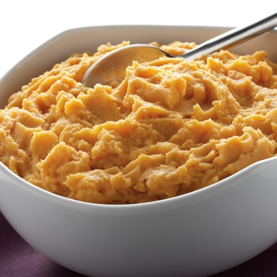 Mashed Potatoes + Pumpkin