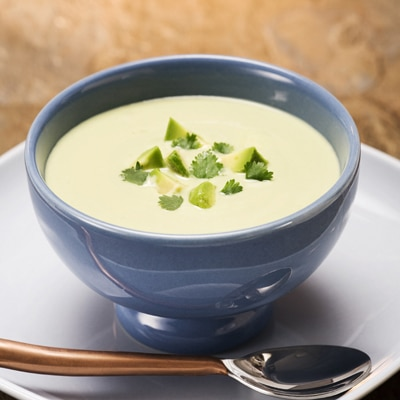 Creamy and Cold Avocado Soup