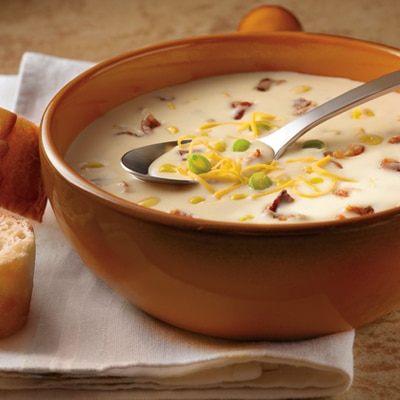 All-Star Potato, Bacon & Corn Chowder