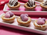 Huggable Heart Cookie Cups
