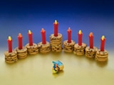 Cookie Menorah