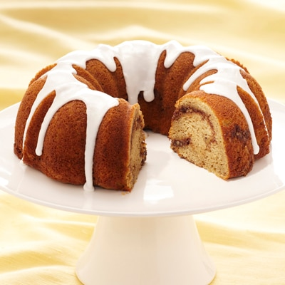 Iced Coffee Bundt Cake