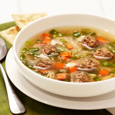 Quick and Easy Meatball Soup