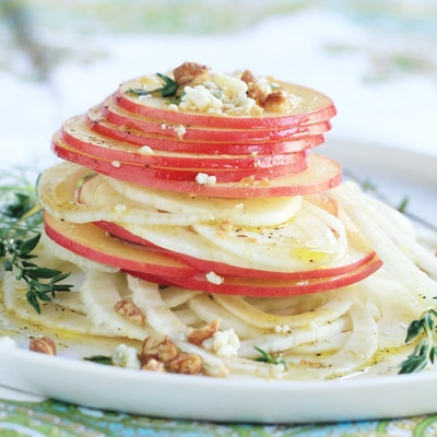 Fennel And Apple Salad With Toasted Fennel Seed Vinaigrette Recipe ...