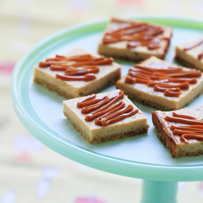 Banana Dulce de Leche Cheesecake Bars