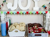 Holiday Cookie Decorating Station