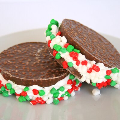 Christmas Elf Sandwiches