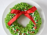 Crispy Rice Cereal Wreath