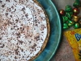 Peanut Butter Pie with Chocolate-Covered Pretzel Crust