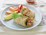 Shredded Chicken Wrap Sandwiches