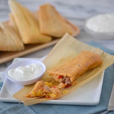Cuban Style Tamales