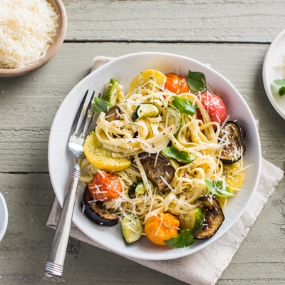 BUITONI® Oven-Roasted Summer Vegetable Linguine