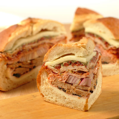 Stuffed Italian Sandwich
