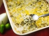 Green Chile-Cheese Rice Casserole