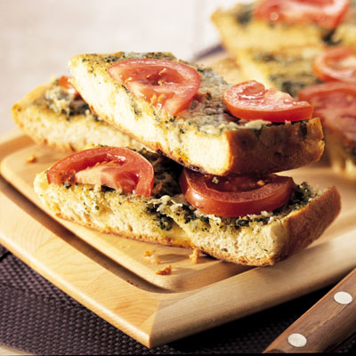 Pesto Bread (Lighter)