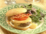 Welsh Rarebit Cheddar Burgers
