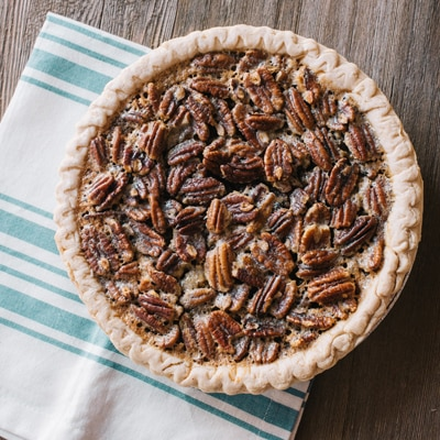 Pumpkin Pecan Pie Recipe | Meals.com
