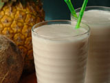 Tropical Yogurt Smoothie