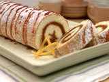 Pumpkin Orange Cake Roll