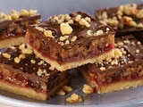 Chocolate Walnut Jam Bars
