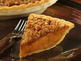 Walnut Crunch Pumpkin Pie