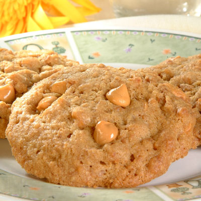 Chewy Butterscotch Graham Cookies
